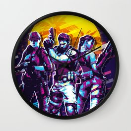 resident evil art Wall Clock