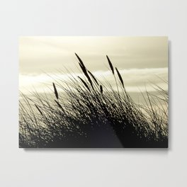 Swaying in the Breeze Metal Print