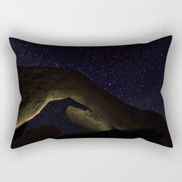 Arch Rock Under the Stars Rectangular Pillow