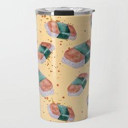Spam Musubi Pattern Travel Mug
