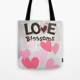 Love Blossoms Tote Bag