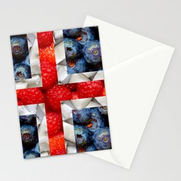 Healthy Iceland Flag Stationery Cards