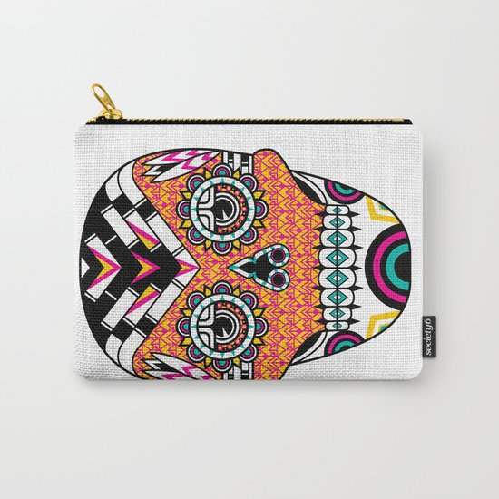 Deco Skull Carry-All Pouch