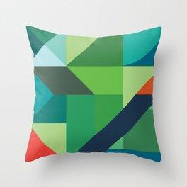 Minimal/Maximal 2 Throw Pillow