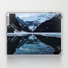Lake Louise at sunset Laptop & iPad Skin