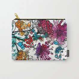 Floral watercolor abstraction Carry-All Pouch