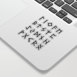 Viking Runes Sticker