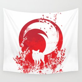 Red Tail Wall Tapestry