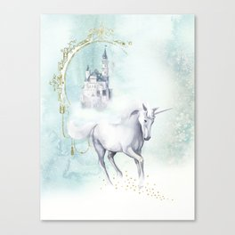 Unicorn magic Canvas Print