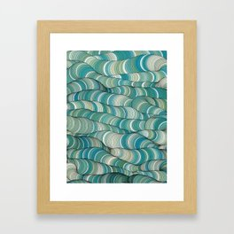 Wave Maker Framed Art Print