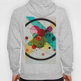Kandinsky Circles in a Circle Hoody