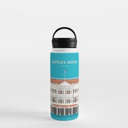 Raffles Hotel, Singapore [Building Singapore] Water Bottle