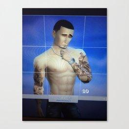 Autographed print for sale  Canvas Print