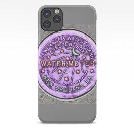 New Orleans Mardi Gras NOLA Water Meter iPhone Case
