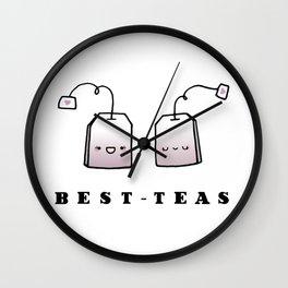 Best-Teas Wall Clock