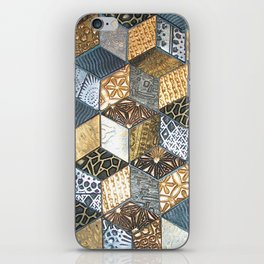 Tumbling Blocks #2 iPhone Skin