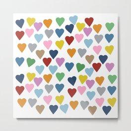 Hearts #3 Metal Print