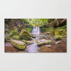 Goit Stock Falls panorama Canvas Print