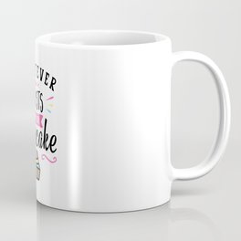 Whatever Frosts Your Cupcake Typography Coffee Mug