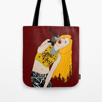 hedwig Tote Bags featuring Hedwig Singing by byebyesally