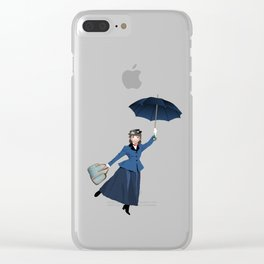 Mary Poppins Clear iPhone Case