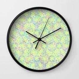Dancing Rainbow Koi Wall Clock