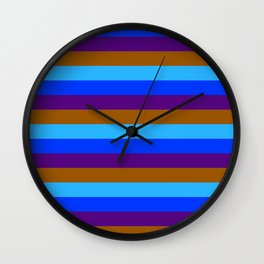 Sunset Colors Wall Clock