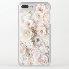 Flower Collection III Clear iPhone Case