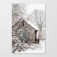 The Wooden Shed Canvas Print
