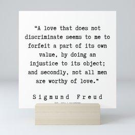 41   |   Sigmund Freud Quotes | 190926 Mini Art Print