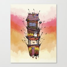Fly House Canvas Print