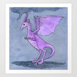Dragon Riddles Art Print