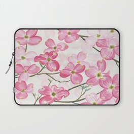 Pink Dogwood Laptop Sleeve