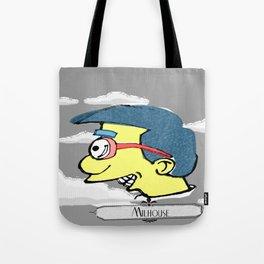 Milhouse in Blue  Tote Bag