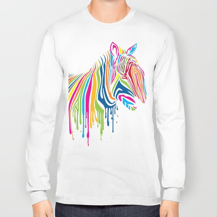 ZebrArt Long Sleeve T-shirt