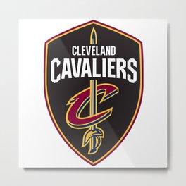 Cleveland Cavalier Metal Print