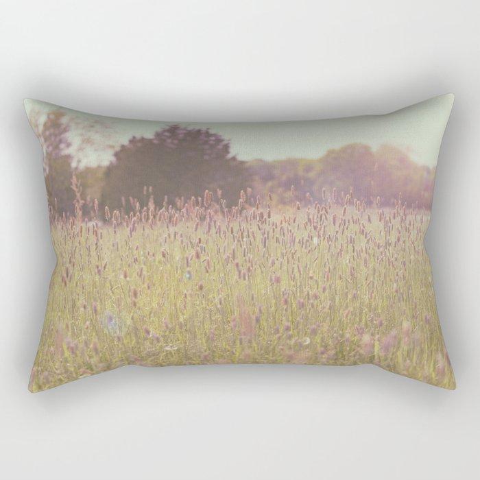 Tall Grass Rectangular Pillow