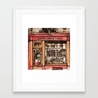 records Framed Art Prints featuring RECORDS by Piljam
