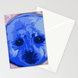 Harp Seal Stationery Cards