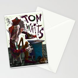 Tom Waits Stationery Cards