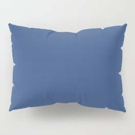 Solid Blue // Mix + Match // Origami Geo Tile Pillow Sham