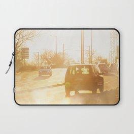 Vehicle gas exhaust Laptop Sleeve