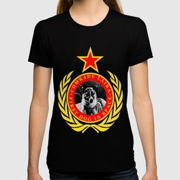 Comrade Laika First Dog In Space T-shirt