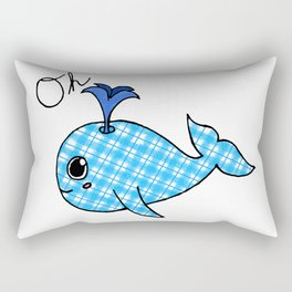Oh, Whale Rectangular Pillow