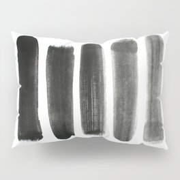 Shades of Gray Pillow Sham