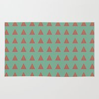 geo Area & Throw Rugs featuring Geo by wendygray