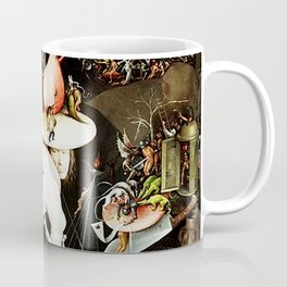 Bosch Garden Of Earthly Delights Panel 3 - Hell Coffee Mug