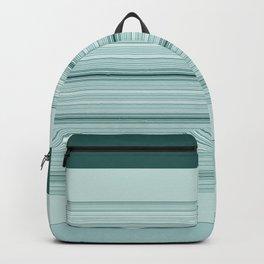 Tiled Mint Green Pattern Design Backpack