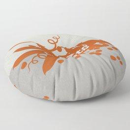 Carrots/Peas Floor Pillow