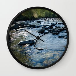 Molalla River Wall Clock
